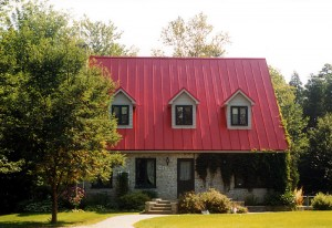 Painted Metal Roofing Panels